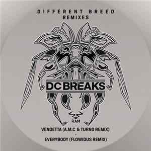 Download DC Breaks - Vendetta (A.M.C & Turno Remix) / Everybody (Flowidus Remix)
